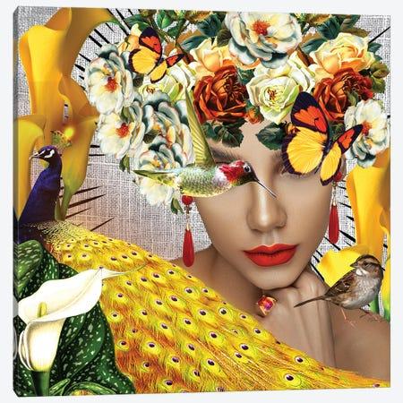 Jasmine In Bloom Canvas Print #YCB38} by Yvonne Coleman Burney Canvas Art Print