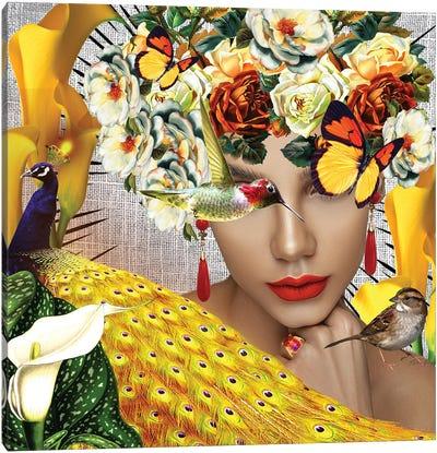 Jasmine In Bloom Canvas Art Print