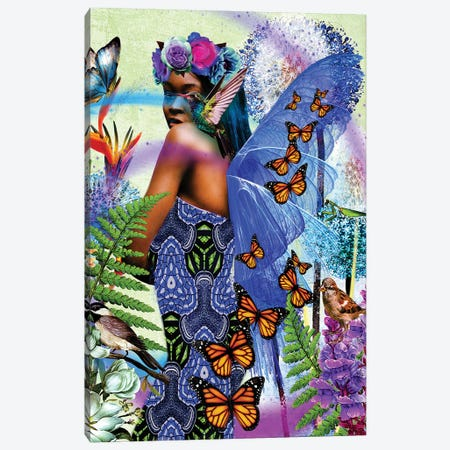 Beautiful Wings Canvas Print #YCB3} by Yvonne Coleman Burney Canvas Print