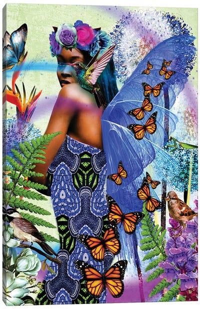 Beautiful Wings Canvas Art Print