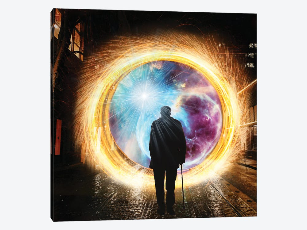Going Back To The Future by Yvonne Coleman Burney 1-piece Canvas Artwork
