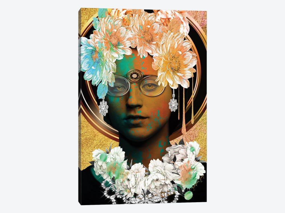 Women In Bloom - Vintage Bloom by Yvonne Coleman Burney 1-piece Canvas Art