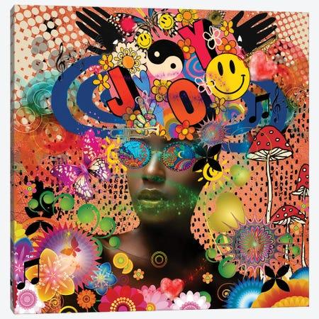 Joyful Noise - Afo-Pop Art Canvas Print #YCB52} by Yvonne Coleman Burney Canvas Print