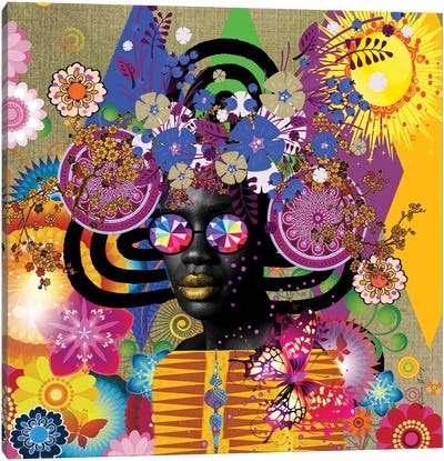 Sunshine- Afo-Pop Art Canvas Art Print