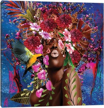 Sister Sassy Blooming - Women In Bloom Canvas Art Print