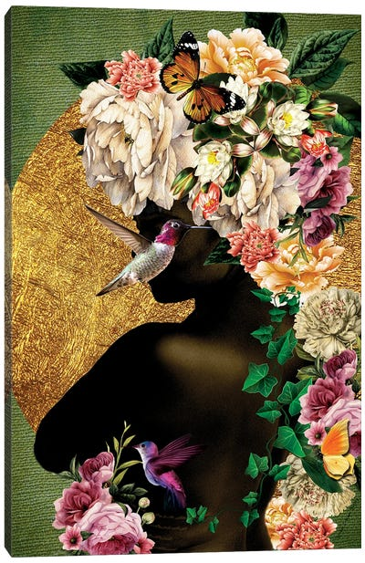 Women In Bloom - Destiny Blooming Canvas Art Print