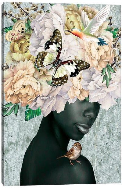 Women In Bloom - Stacy Canvas Art Print
