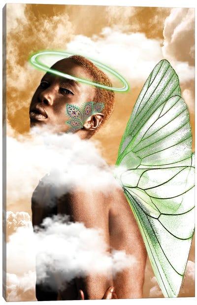 Ebony Angel Canvas Art Print