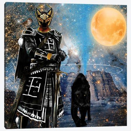 Egyptian Black Knight Canvas Print #YCB7} by Yvonne Coleman Burney Canvas Artwork