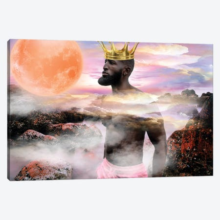 He's King Canvas Print #YCB9} by Yvonne Coleman Burney Canvas Print