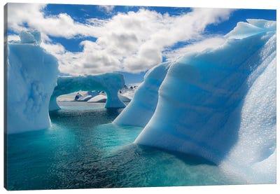 Antarctic Peninsula, Antarctica. Errera Channel, Beautiful Iceberg. Canvas Art Print