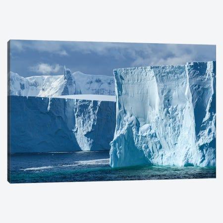 Antarctica, Antarctic Peninsula. Tabular Iceberg. Canvas Print #YCH27} by Yuri Choufour Canvas Print