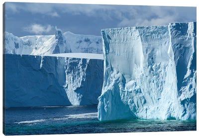Antarctica, Antarctic Peninsula. Tabular Iceberg. Canvas Art Print