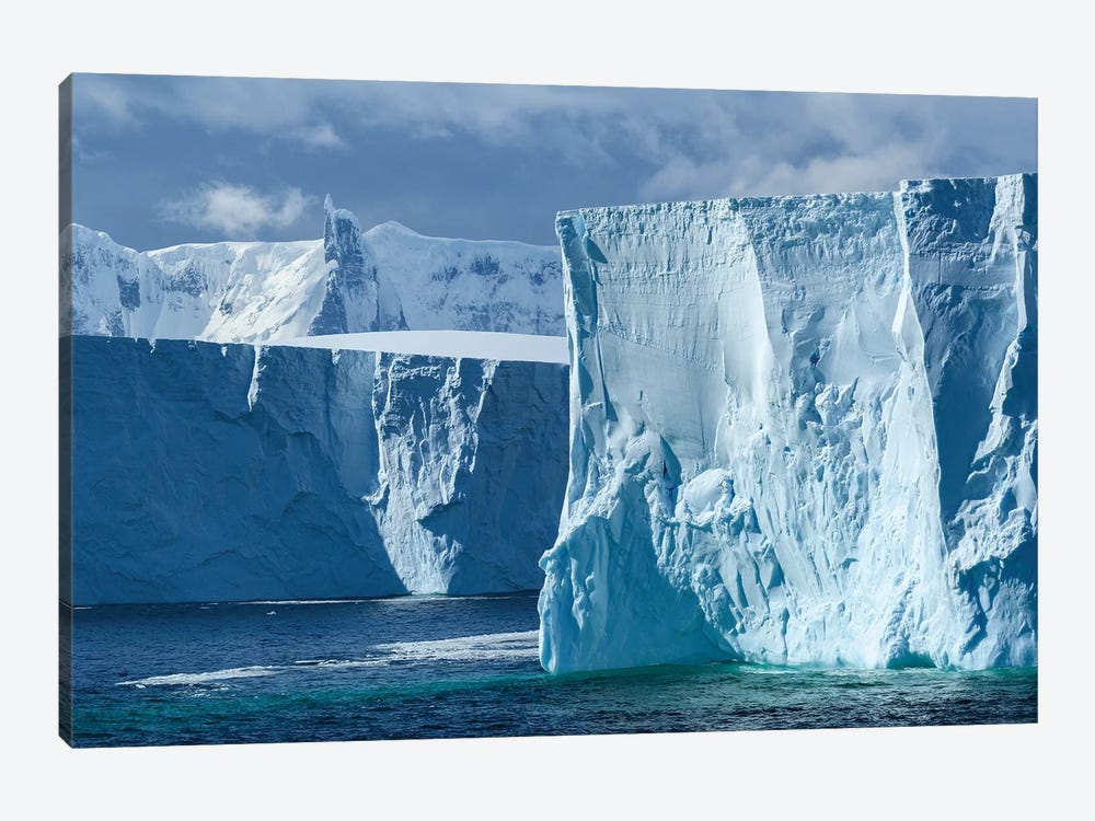 Antarctica, Antarctic Peninsula. Tabular Iceberg. by Yuri Choufour 1-piece Canvas Art