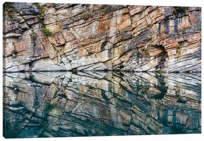 Canada, Alberta, Jasper National Park. Horseshoe Lake. Canvas Art Print