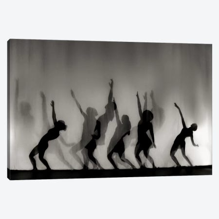 Dance Is The Language Of The Soul  3-Piece Canvas #YDE1} by Yvette Depaepe Art Print