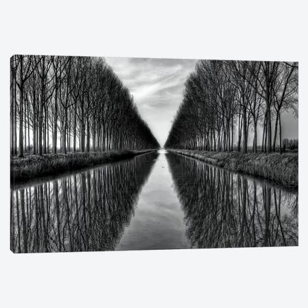 Vanished to the infinite 3-Piece Canvas #YDE3} by Yvette Depaepe Canvas Print