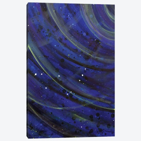 Well Wisher, For A Capricorn Canvas Print #YFS107} by Yolanda Fernandez-Shebeko Art Print