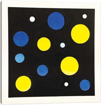 Thirteen Lucky Stars Canvas Art Print