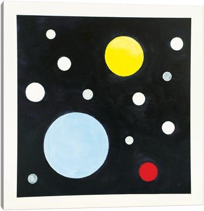 Lit Canvas Art Print