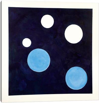 Three And Three Canvas Art Print