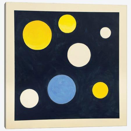Blue Moon Canvas Print #YFS134} by Yolanda Fernandez-Shebeko Canvas Artwork