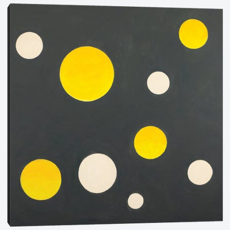 Nine Completed Circles Canvas Print #YFS142} by Yolanda Fernandez-Shebeko Canvas Art
