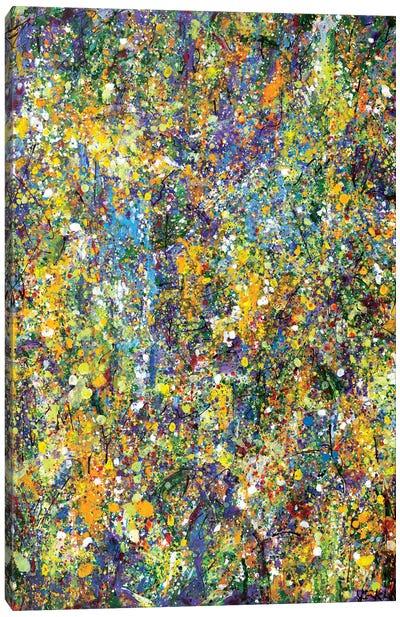 Garden Wall  Canvas Art Print