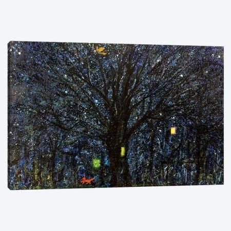 Not Asleep  Canvas Print #YFS47} by Yolanda Fernandez-Shebeko Canvas Artwork
