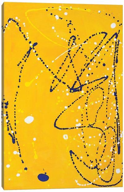 Leap  Canvas Art Print