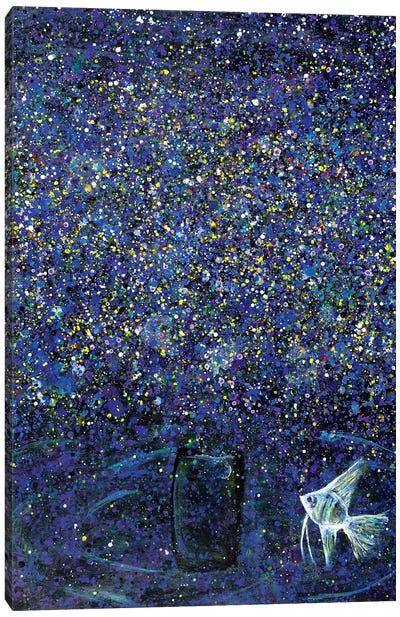 My Dream as a Fish  Canvas Art Print