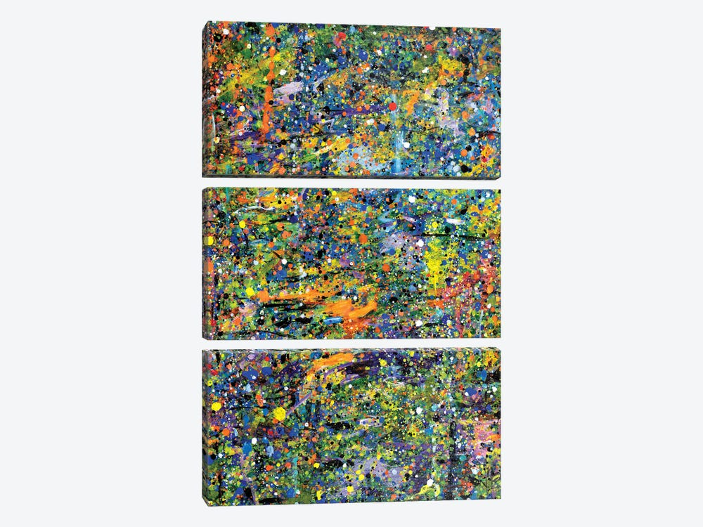 Perceived Patterns of the Season  by Yolanda Fernandez-Shebeko 3-piece Art Print