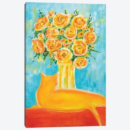 Goldie Canvas Print #YFS93} by Yolanda Fernandez-Shebeko Canvas Art
