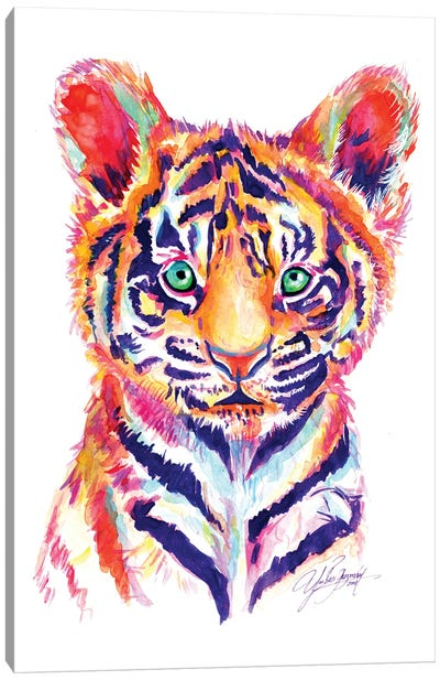 Baby Tiger Canvas Art Print
