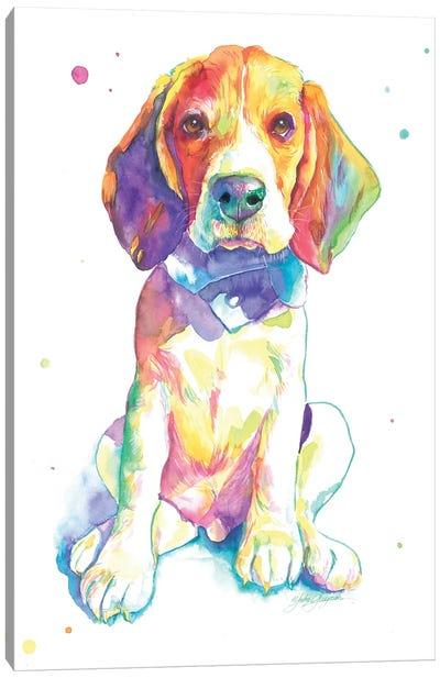 Beagle Puppy Canvas Art Print