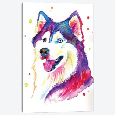 Beautiful She-Wolf Canvas Print #YGM34} by Yubis Guzman Canvas Art