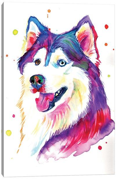 Beautiful She-Wolf Canvas Art Print