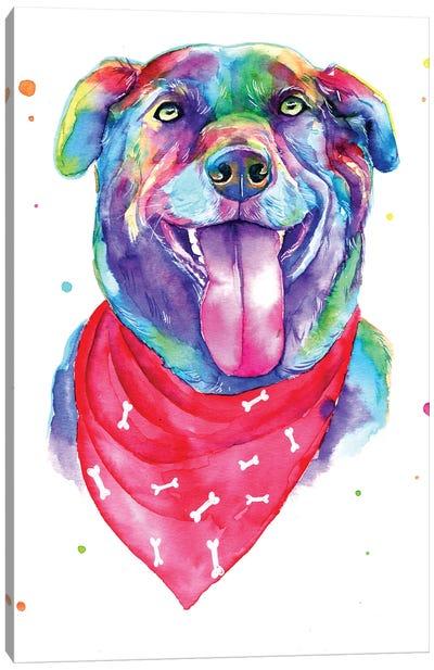 Blue Dog IV Canvas Art Print