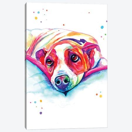 Sweet Look Canvas Print #YGM62} by Yubis Guzman Canvas Art