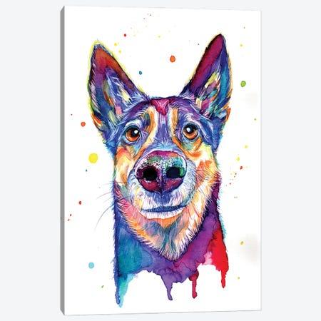 My Loyal Friend II Canvas Print #YGM68} by Yubis Guzman Canvas Art