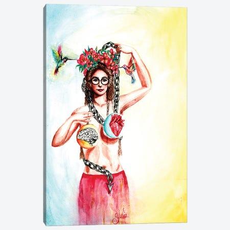 Balance In Life Canvas Print #YGM74} by Yubis Guzman Canvas Wall Art