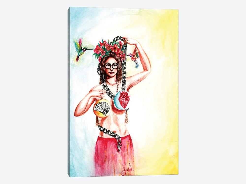 Balance In Life by Yubis Guzman 1-piece Canvas Wall Art