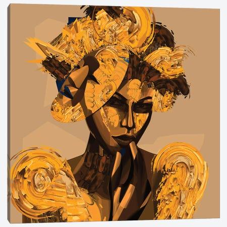 Mask Canvas Print #YGT10} by Yeabtsega Getachew Canvas Art
