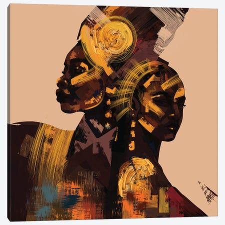 Shoulder Canvas Print #YGT12} by Yeabtsega Getachew Canvas Artwork