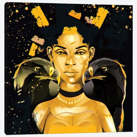 Golden Canvas Print #YGT16} by Yeabtsega Getachew Canvas Art Print
