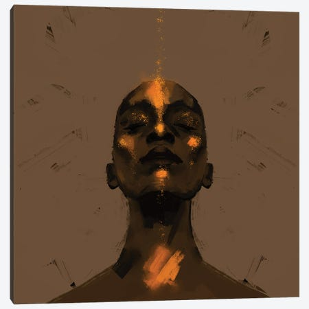 Euphoria Canvas Print #YGT2} by Yeabtsega Getachew Canvas Art