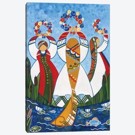 Ivan Kupala Canvas Print #YLB10} by Yulia Belasla Art Print