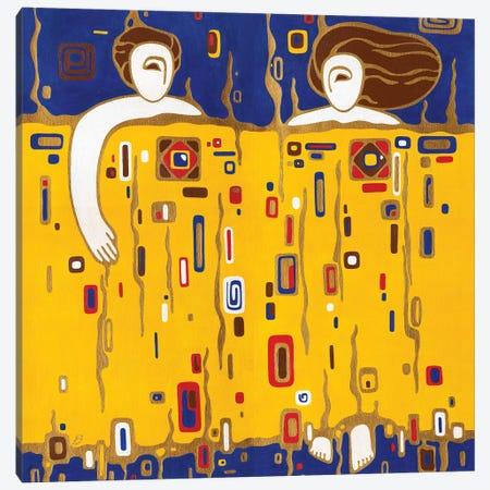 Under One Blanket Canvas Print #YLB12} by Yulia Belasla Canvas Print