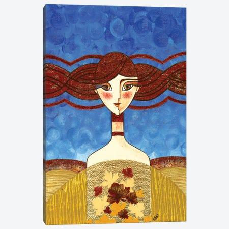 The Autumn Sun Canvas Print #YLB15} by Yulia Belasla Canvas Artwork