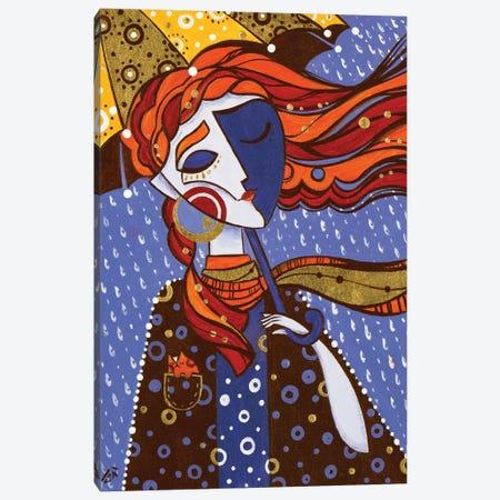 Sunny Rain Canvas Print #YLB16} by Yulia Belasla Canvas Wall Art